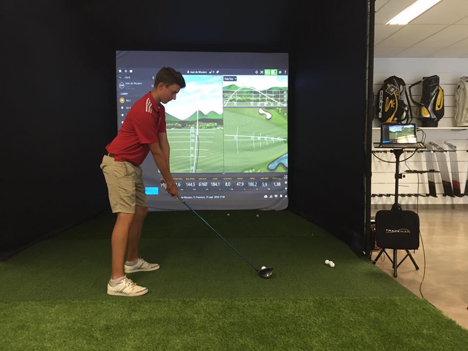 Golf simulator Braine l Alleud